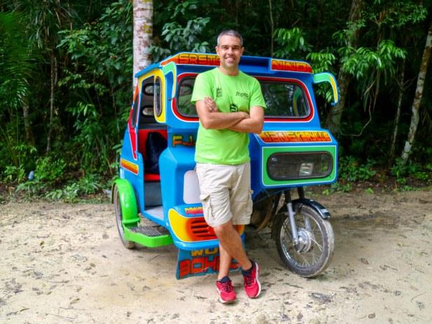 Visitar las Chocolate Hills y los Tarsiers en triciclo