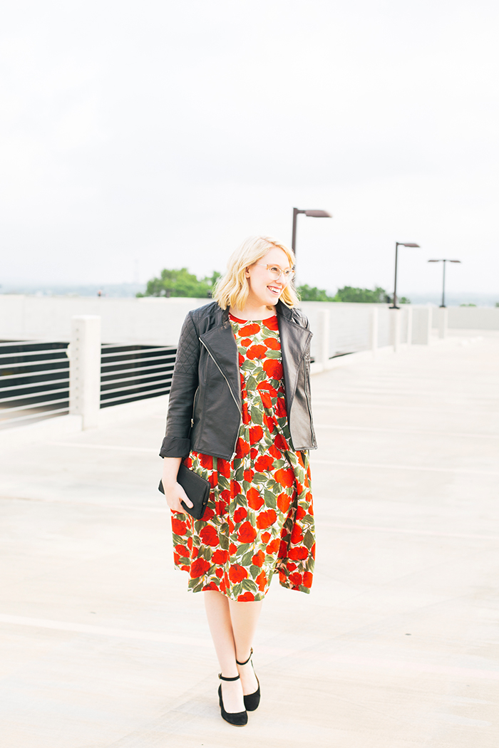 austin fashion blogger spring wedding outfit vintage dress2
