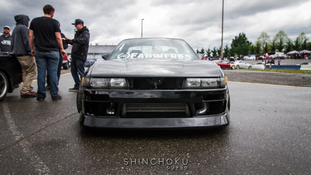 Mickael Blair's Nissan S13 at NissanFest 2017