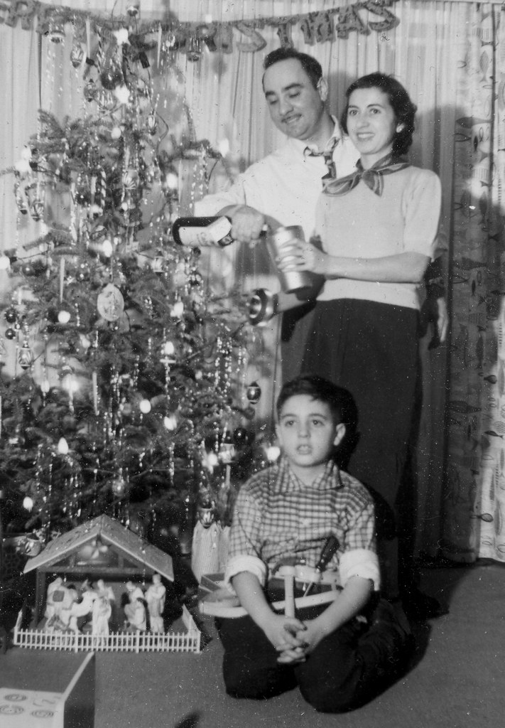Vintage Family Christmas 1956 My Aunt Mary Uncle Harry