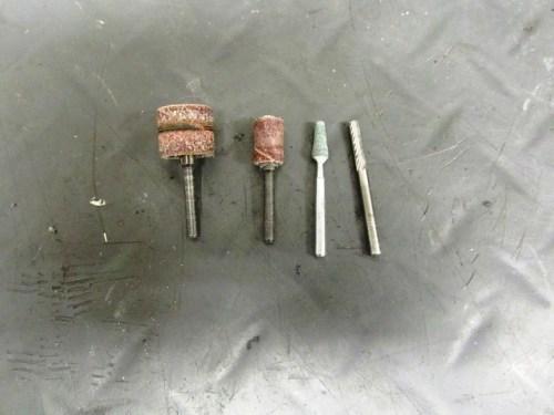 Dremel Bits For Enlarging Instrument Bracket Cut-out