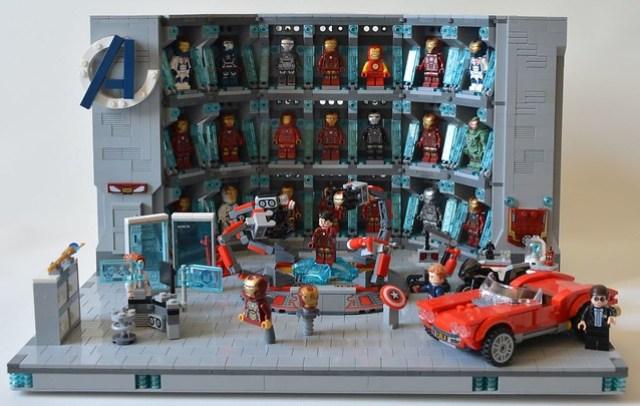 Labo Tony Stark Iron Man