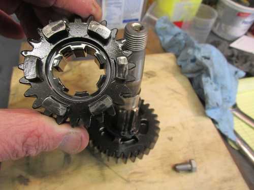 Output Shaft 4th Gear