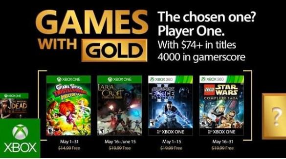 Xbox Gold May 2017