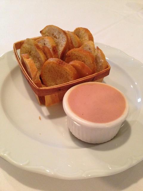 Chicken Liver Pate at La Provence, Lacombe LA
