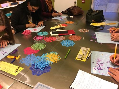 Paper cutting workshop