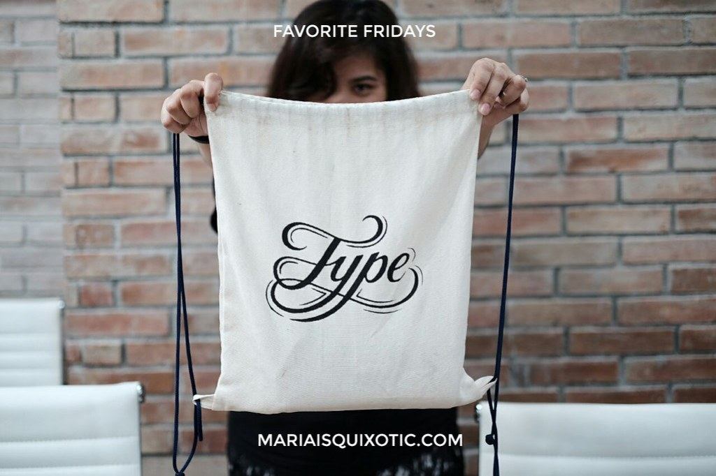 Favorite Fridays 31: The Type Bag