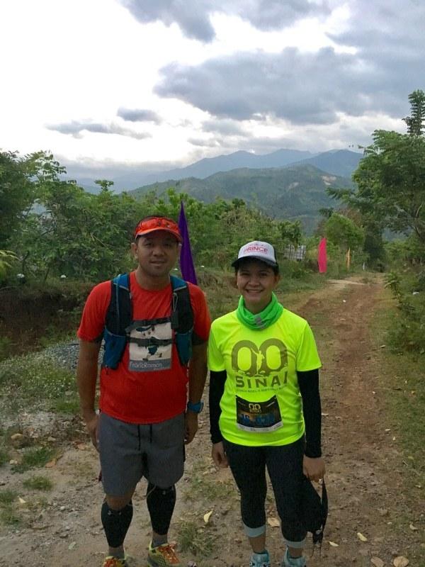 Met Fellow SGVian Cheng before the race.