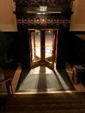 Revolving door, William Penn Hotel