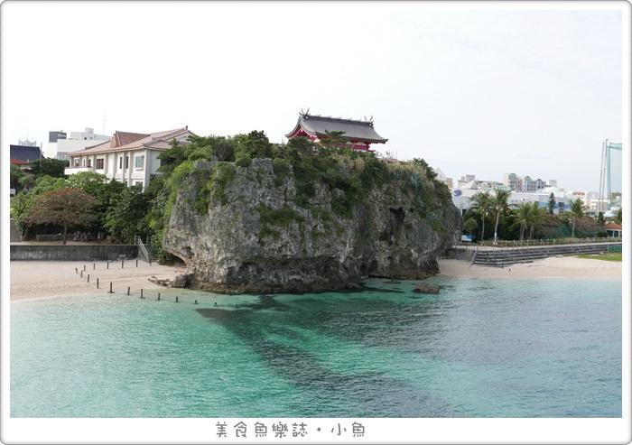 日本沖繩-波上宮-波之上海灘-那霸市區海景