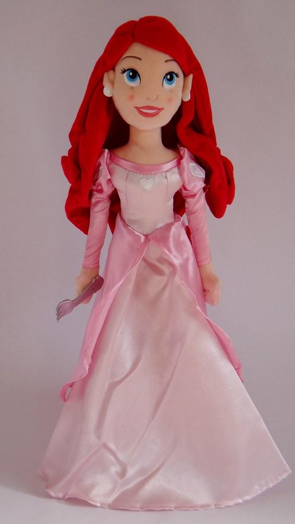 Ariel Plush Doll 21 Disney Store First Look Full F