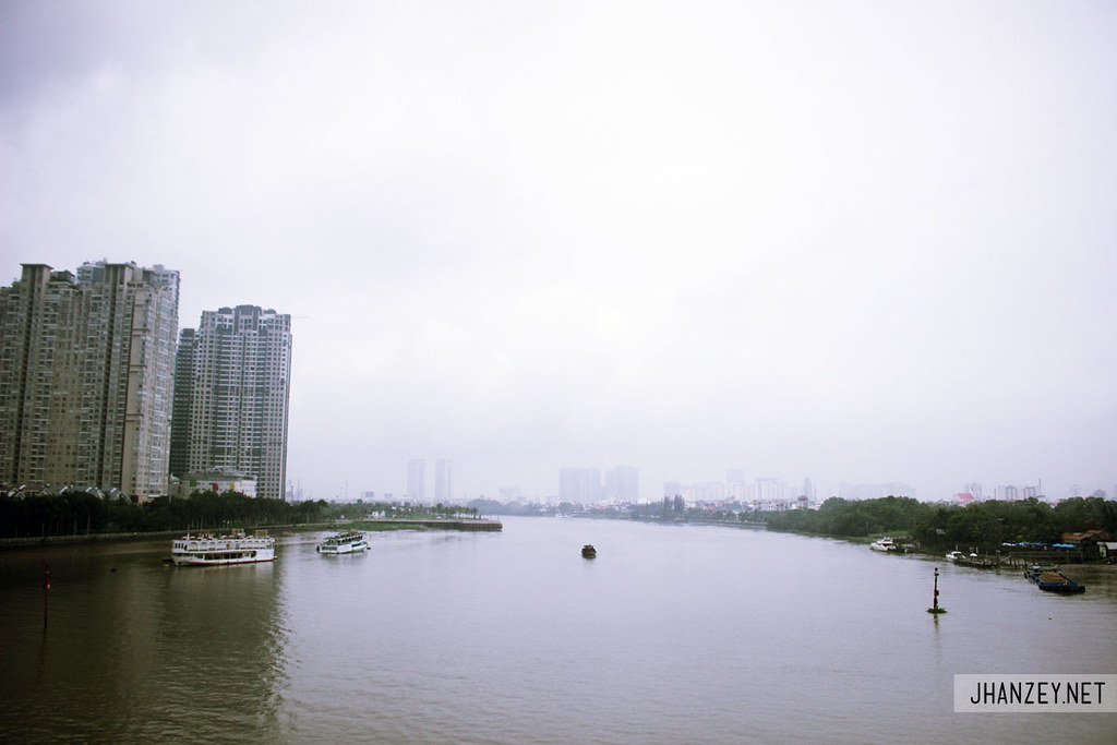 Saigon River - Ho Chi Minh City, Vietnam
