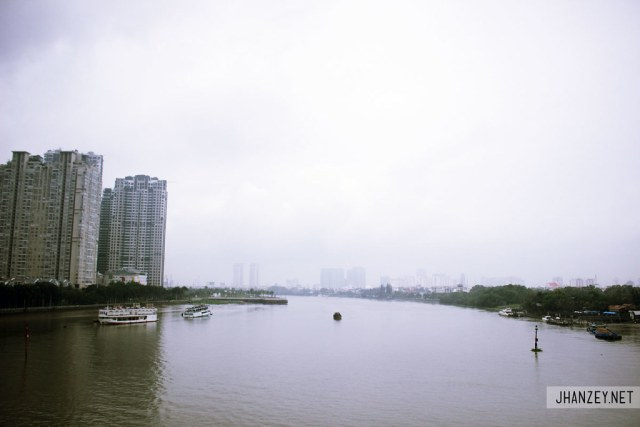 Saigon River - Ho Chi Minh City, Vietnam