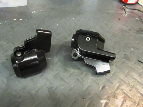 Repaired & Painted Control Housings