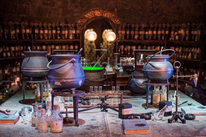 Warner Bros Studio London Harry Potter Potions Dungeon