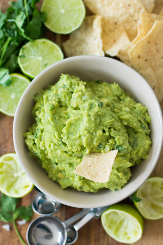 Perfect guacamole - simple, delicious, homemade.