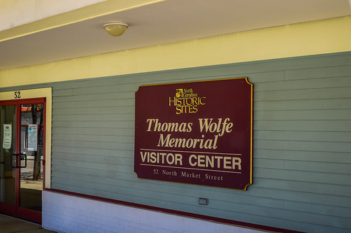 Thomas Wolfe Memorial-001