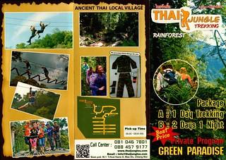 Brochure Thai Jungles Zipline and Trekking 1