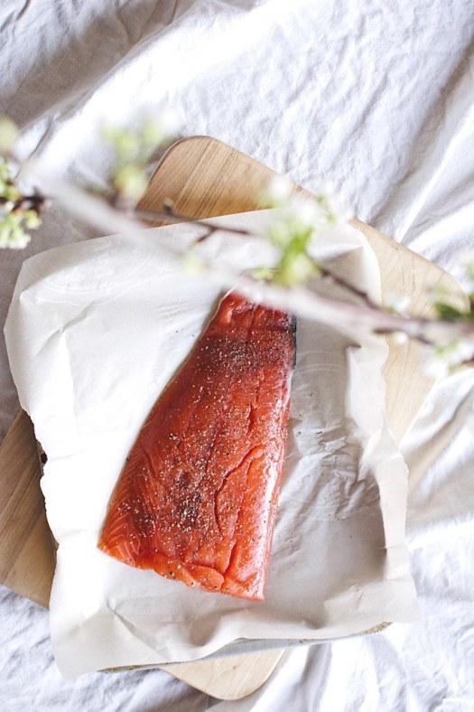 wild salmon filet