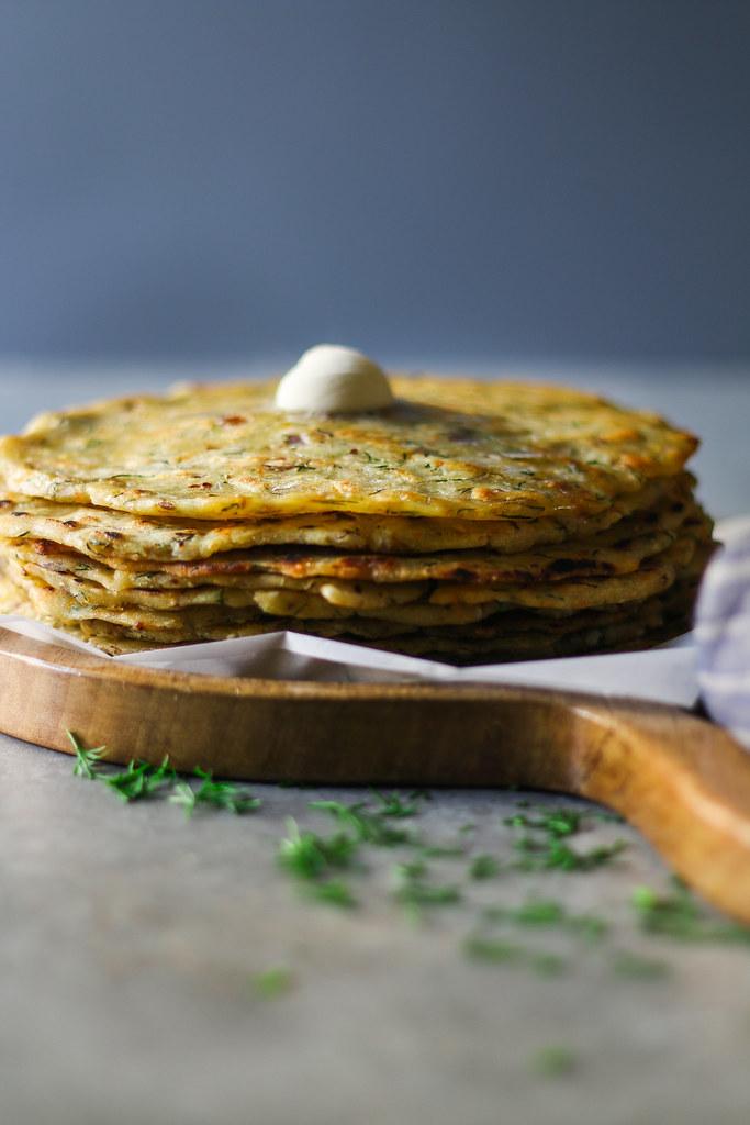 Akki Rotti/ Rice-Dill Rotti (gluten free) |foodfashionparty| #glutenfree #flatbread