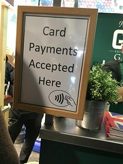 Gin and contactless, one of my very favourite combinations