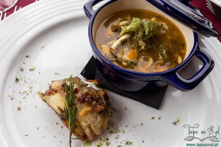 Prove a Nazaré no restaurante Mar Aberto