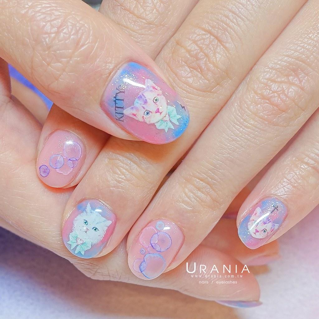♥ 迷幻的獨角獸眼淚!淡藍粉紫的指尖光芒 14