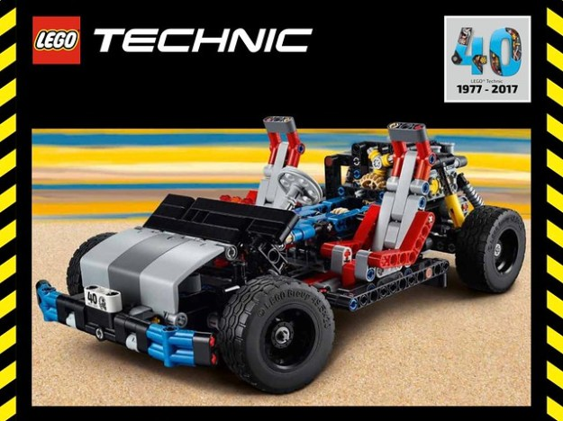 lego technic 40th anniversary car chassis review the. Black Bedroom Furniture Sets. Home Design Ideas