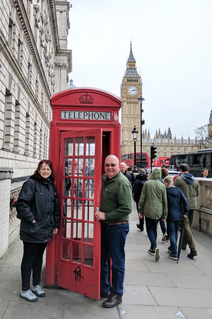 Andersons visit UK