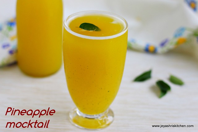 Pineapple- mocktail