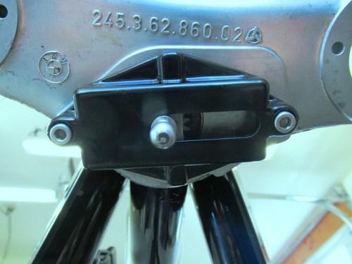 Steering Damper Cover Orientation on Lower Triple Clamp