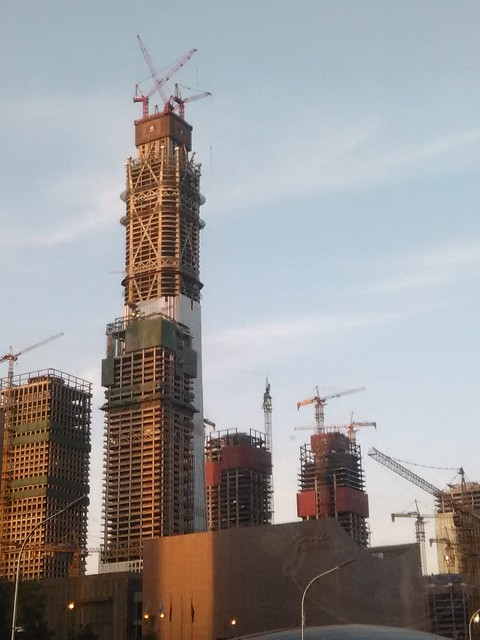 China Zun Tower, picture taken on April 11.