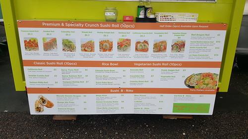 sushi food cart portland