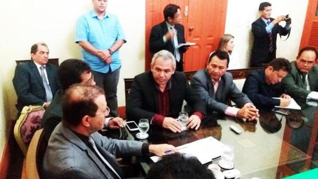 Nélio articula apoio para instalação de novo batalhão da PM em Santarém, Prefeito Nélio Aguiar em Belém (1)