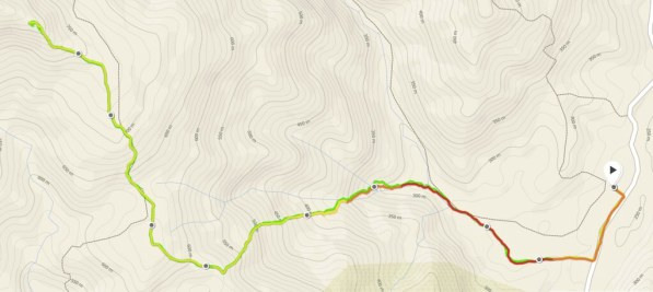 Race route and elevation profile is powered by Suunto Ambit 3 Sports