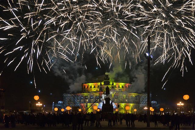 Feuerwerk Semperoper
