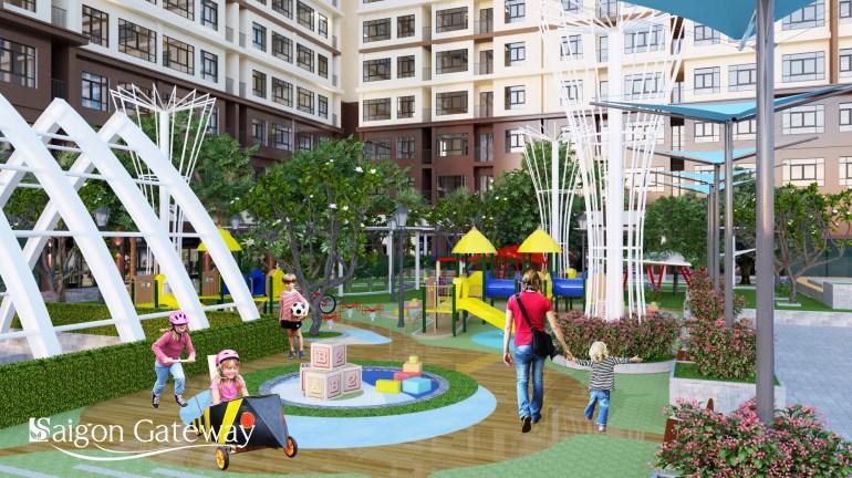Không gian sống Saigon Gateway tại Xa Lộ Hà Nội