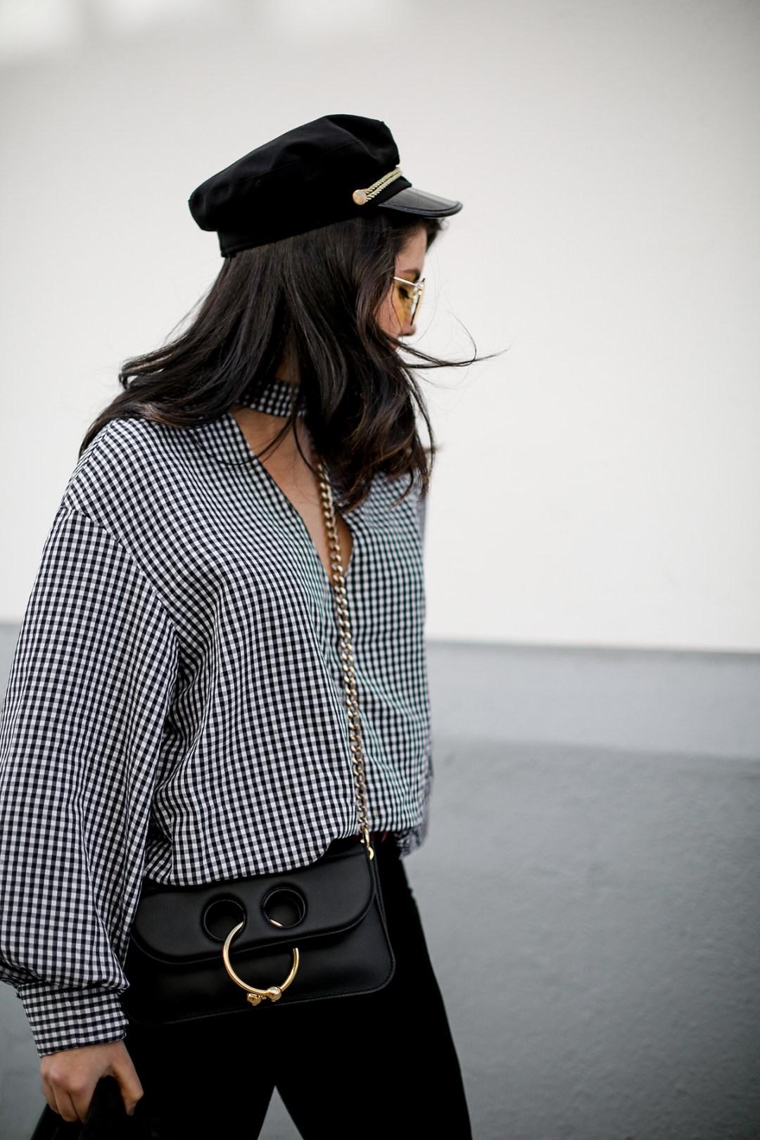 camisa-cuadros-vichy-chanel-slingback-pierce-bag-jw-anderson-myblueberrynightsblog2