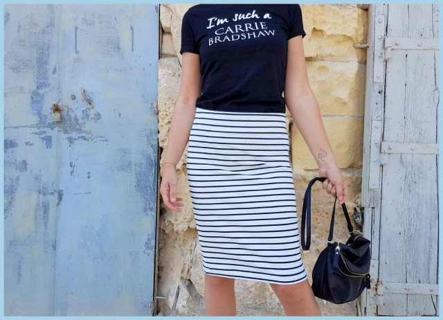 striped pencil skirt 4