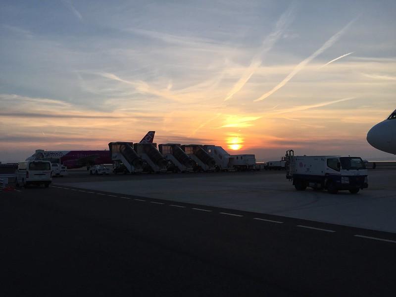 大阪 關西機場 第二航廈 停機場