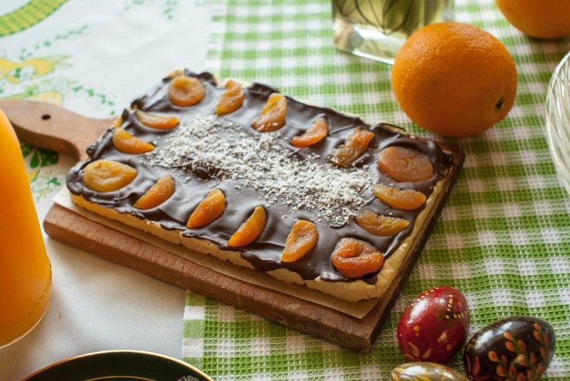 mazurek wielkanocny czekoladowy