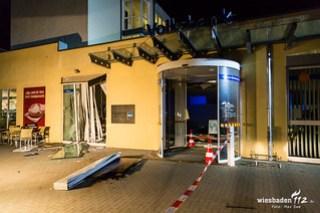 Geldautomaten Sprengung Rosbach 06.04.2017