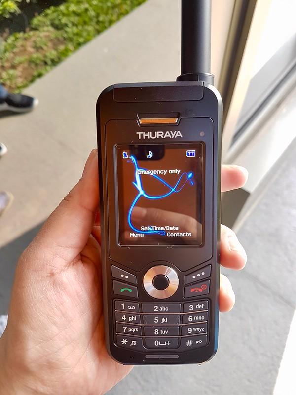 Smart satellite phone
