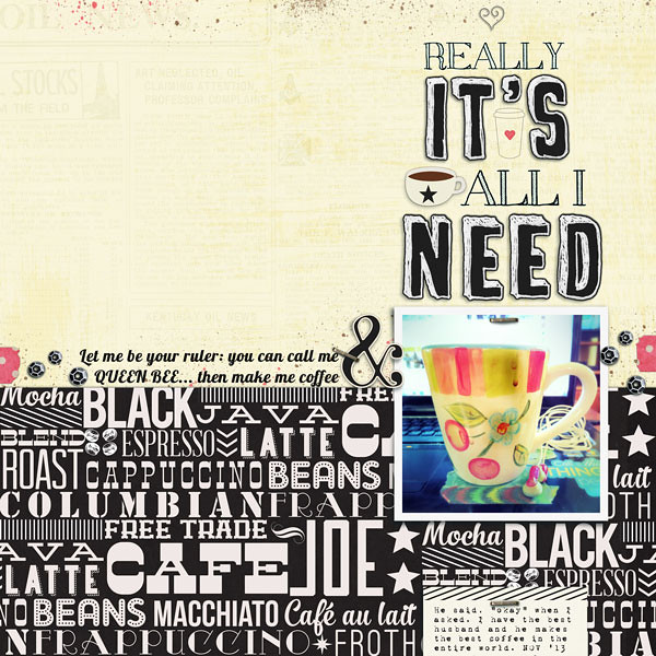 really it's all i need