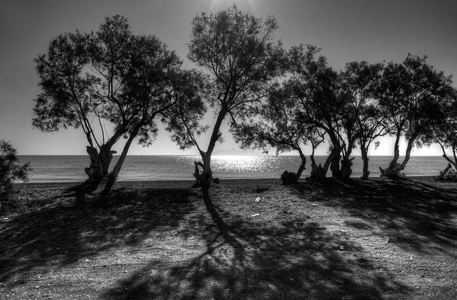 Santorini Shadows