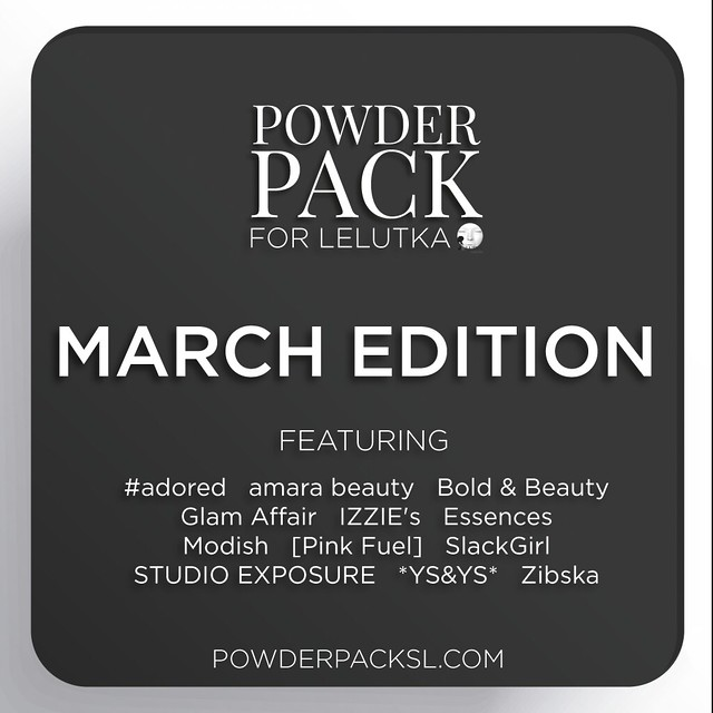Powder Pack LeLutka March Edition