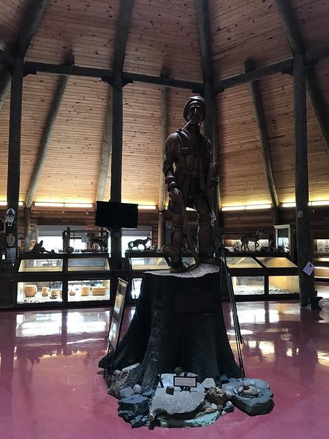 Sequoyah, Oakville Indian Mounds Education Center, Danville AL