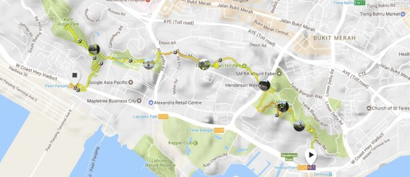 Map and Elevation Profile Powered by Suunto Spartan Sports.