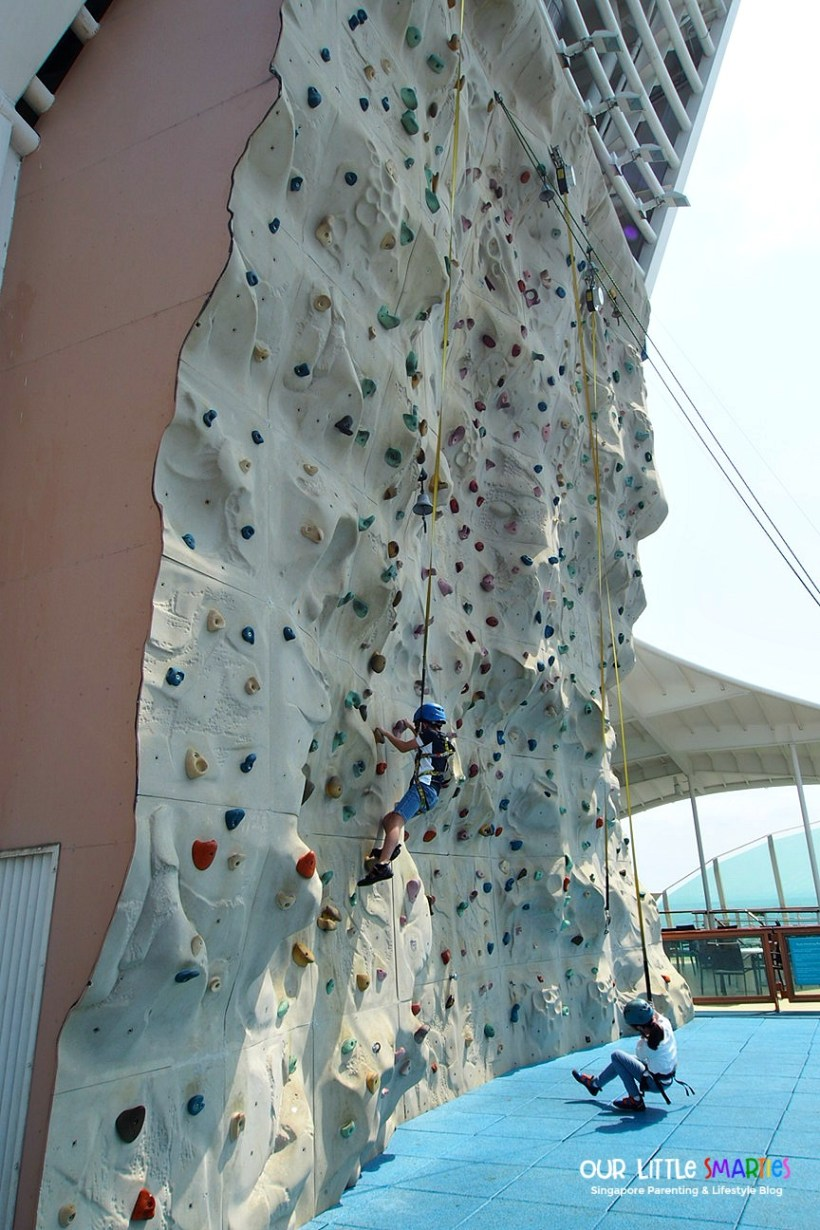 Rock Climbing Wall Mariner of the Seas