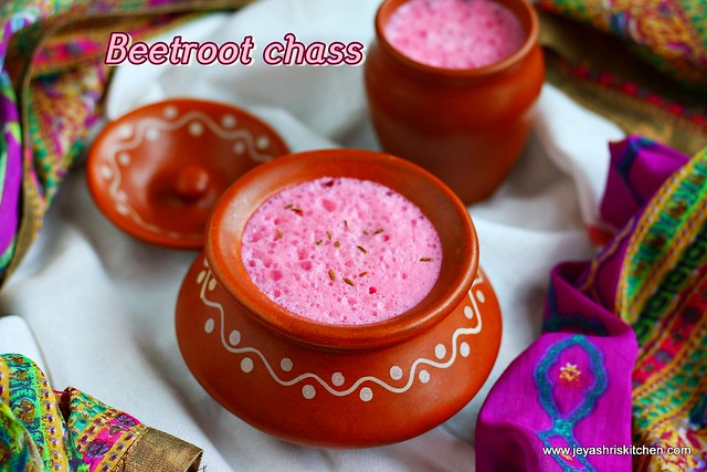Beetroot-chaas